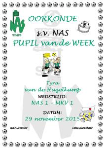 Pupil van de week - png